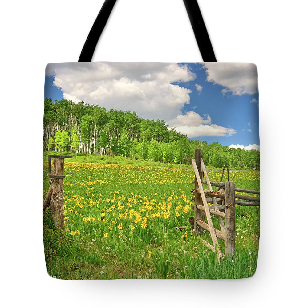 Tranquility Tote Bag featuring the photograph Welcome To Heaven On Earth by Amy Hudechek