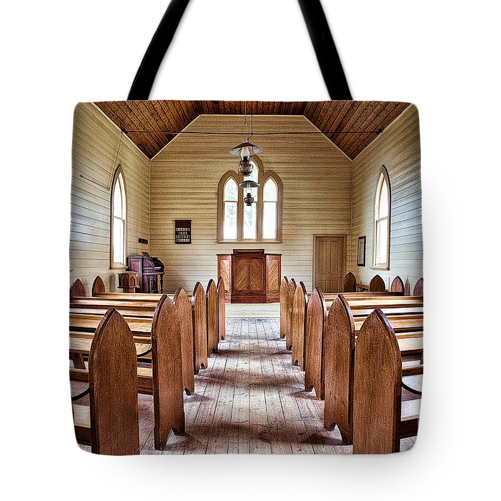 Australia Tote Bag featuring the photograph Wesleyan Methodist Church by Yew Kwang