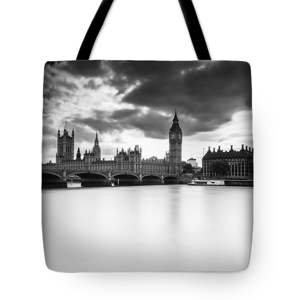 Westminster Tote Bag featuring the photograph Westminster by Keith Thorburn LRPS AFIAP CPAGB