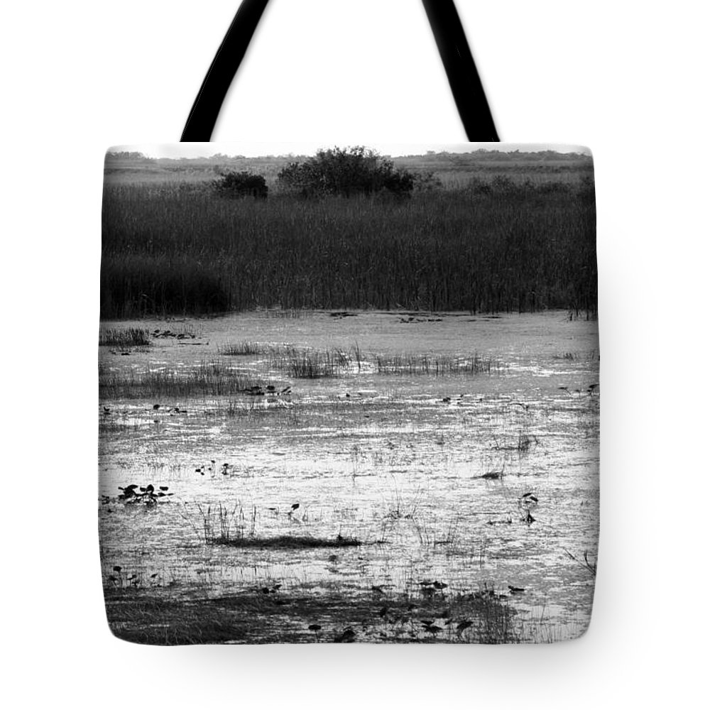 Wet Tote Bag featuring the photograph Wet Landscape by Chuck Hicks