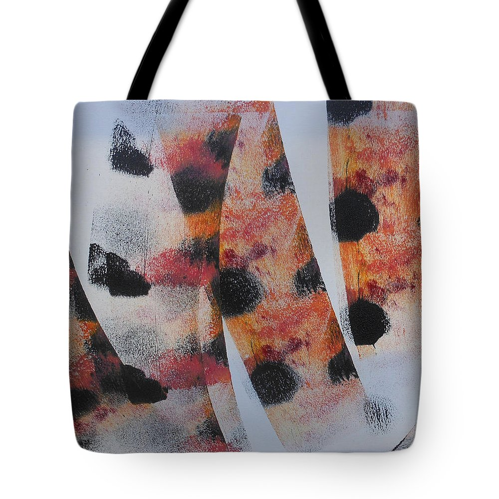 Acrylic Tote Bag featuring the painting What Do You See by Arlene Wright-Correll