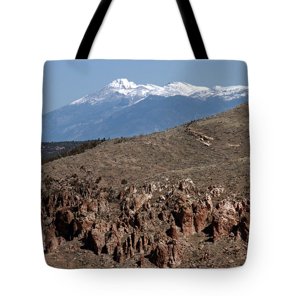 Landscape Tote Bag featuring the photograph Wheeler Peak by David Salter