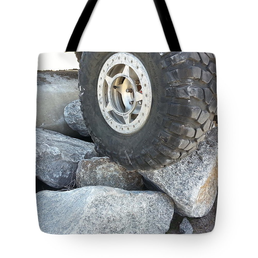 Vehicle Tote Bag featuring the photograph Wheeling by Fortunate Findings Shirley Dickerson