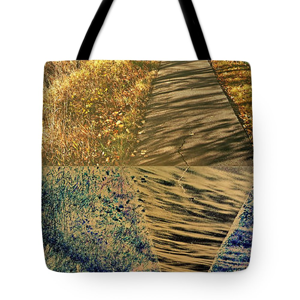 Path Tote Bag featuring the photograph Which Path Do We Take by David Pantuso