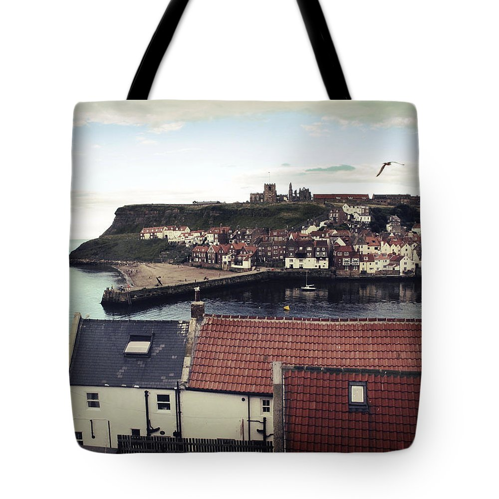 Uk Tote Bag featuring the photograph Whitby by Christopher Rees
