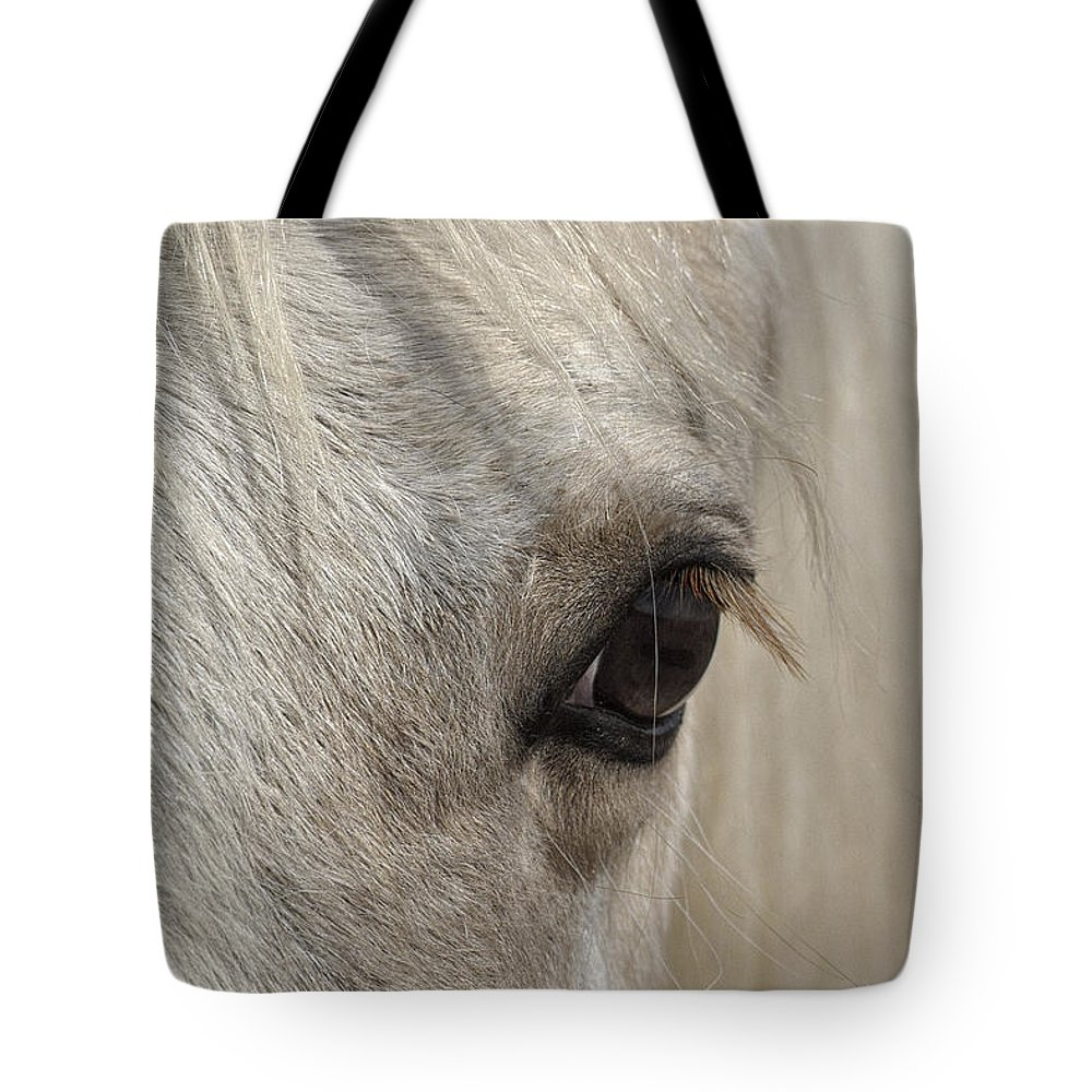 White Beauty Tote Bag featuring the photograph White Beauty by Wes and Dotty Weber