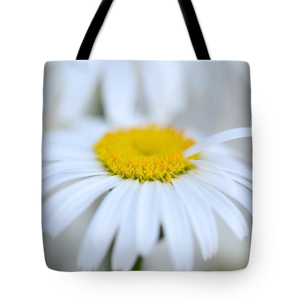 Daisy Tote Bag featuring the photograph White Wedding by Donna Blackhall