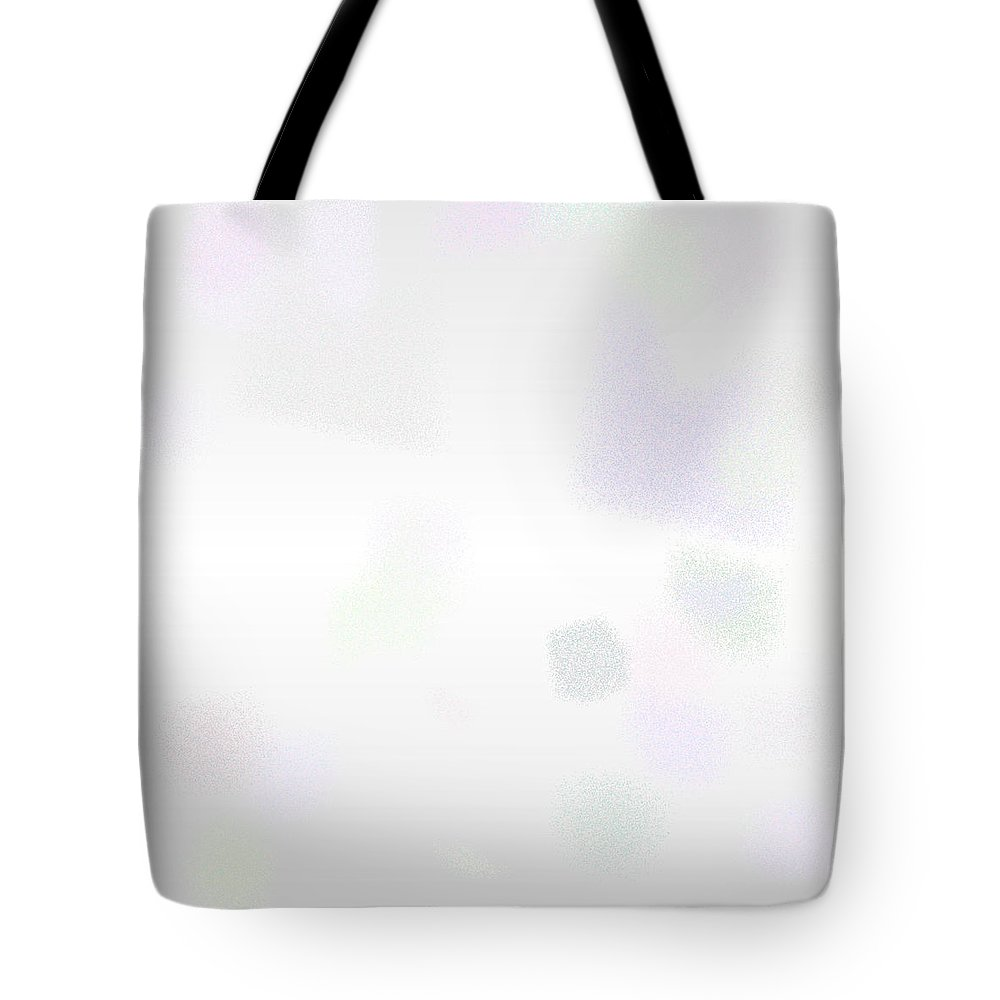 White Rithmart Gray Grey Black Silver Abstract Artwork Rithmart Digital Computer Purple Pink Green Wall Business Flat Studio Apartment Subtle Tote Bag featuring the digital art White.3 by Gareth Lewis