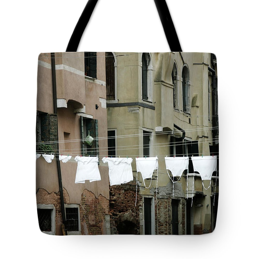 Venice Tote Bag featuring the photograph Whiter Than White by Christopher Rees