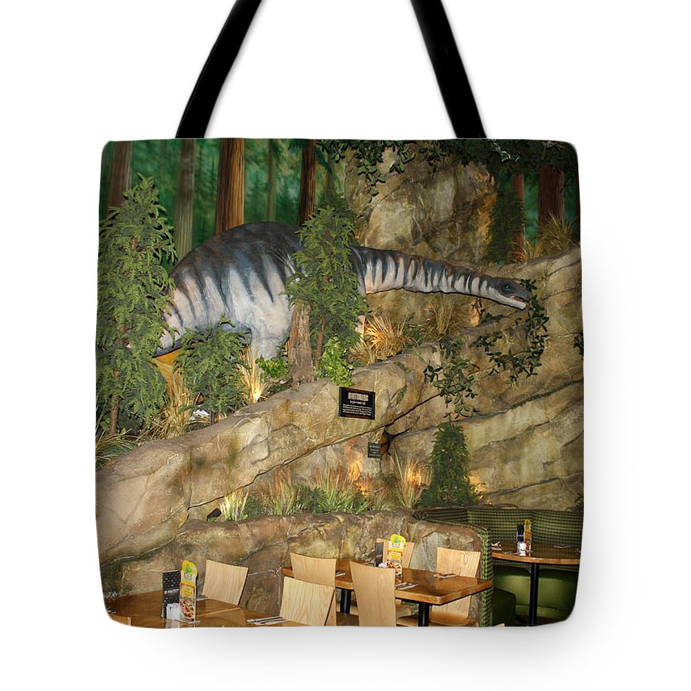 Disney World Tote Bag featuring the photograph Who Ate The Diners by David Nicholls