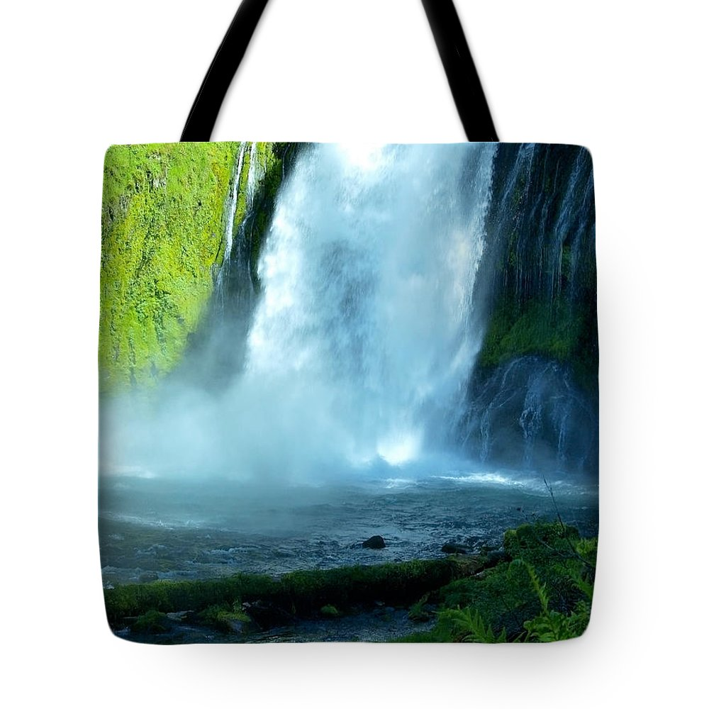 Water Tote Bag featuring the photograph Wide Angle Shot by Teri Schuster