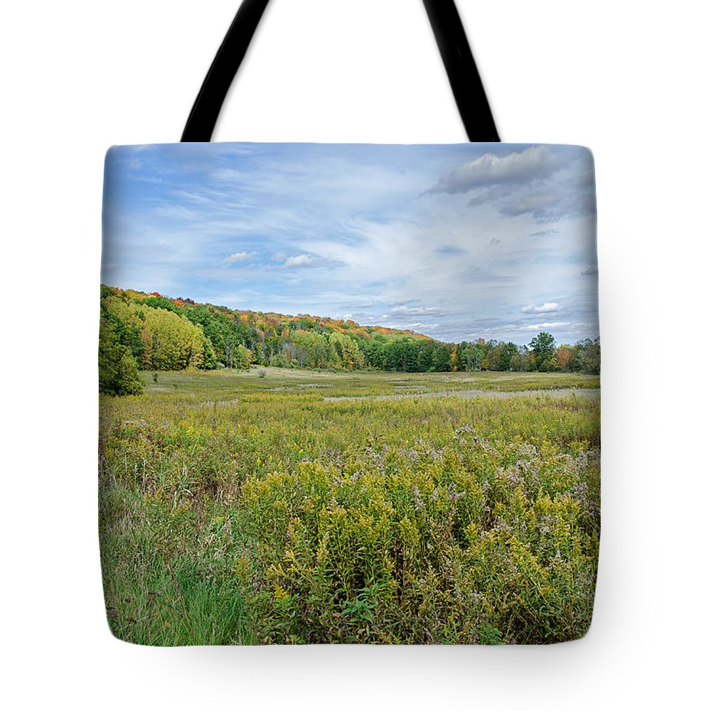 Wide Open Spaces Tote Bag featuring the photograph Wide Open Spaces by Susan McMenamin
