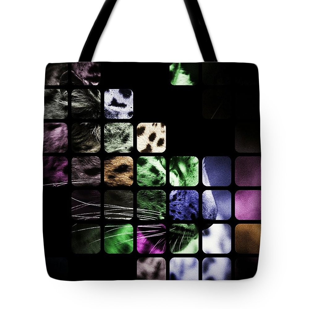 Leopard Tote Bag featuring the photograph Wild And Free by Florian Rodarte