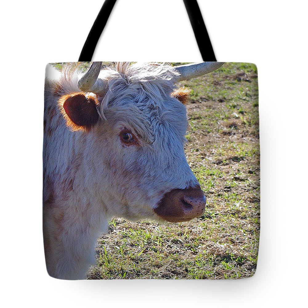 Wild Tote Bag featuring the photograph Wild Eye by Mike and Sharon Mathews