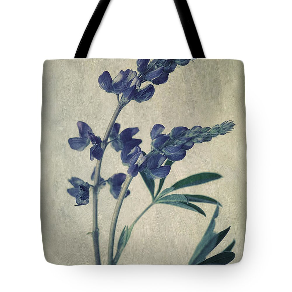 Lupine Tote Bag featuring the photograph Wild Lupine by Priska Wettstein