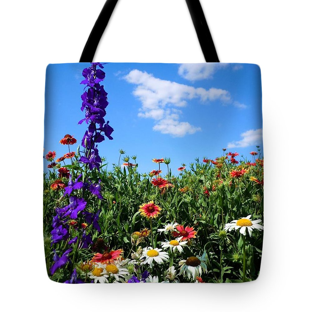 Wildflowers Tote Bag featuring the photograph Wildflowers #7 by Robert ONeil
