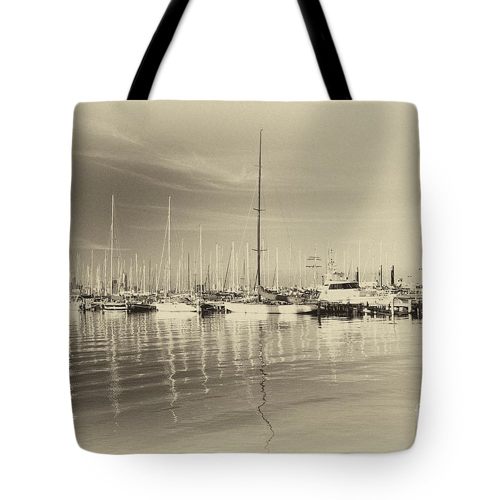 China Tote Bag featuring the photograph Willamstown Jetty by Yew Kwang