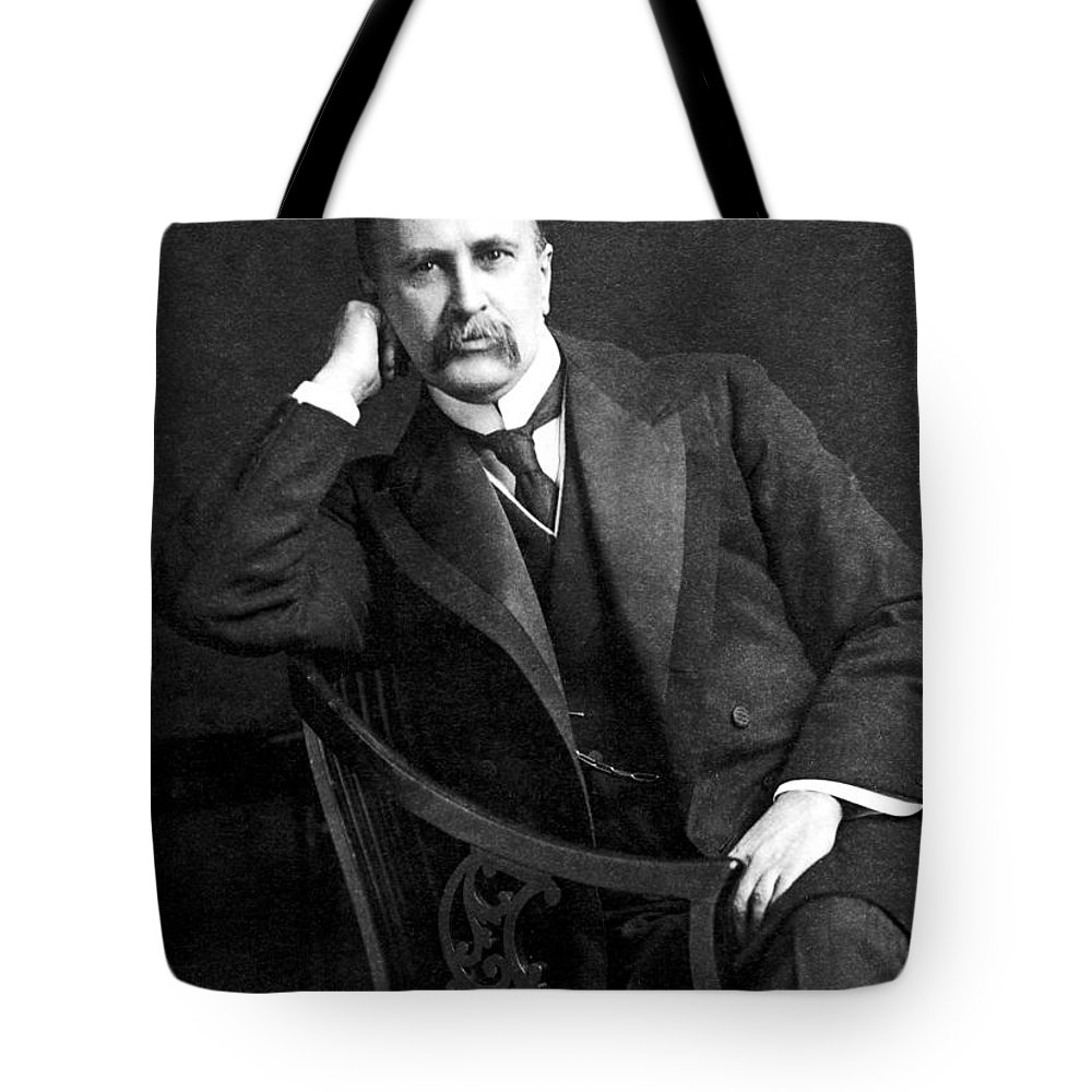 19th Century Tote Bag featuring the photograph William Osler (1849-1919) by Granger