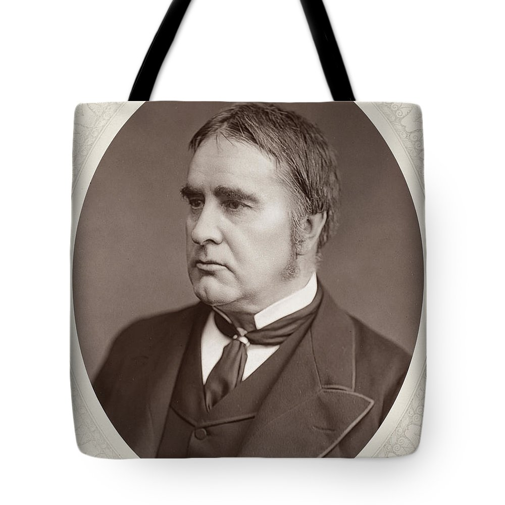 19th Century Tote Bag featuring the photograph William W. Gull (1816-1890) by Granger
