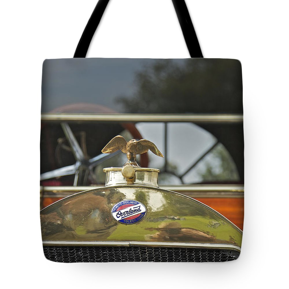 Willis Tote Bag featuring the photograph Willis Overland by Jack R Perry