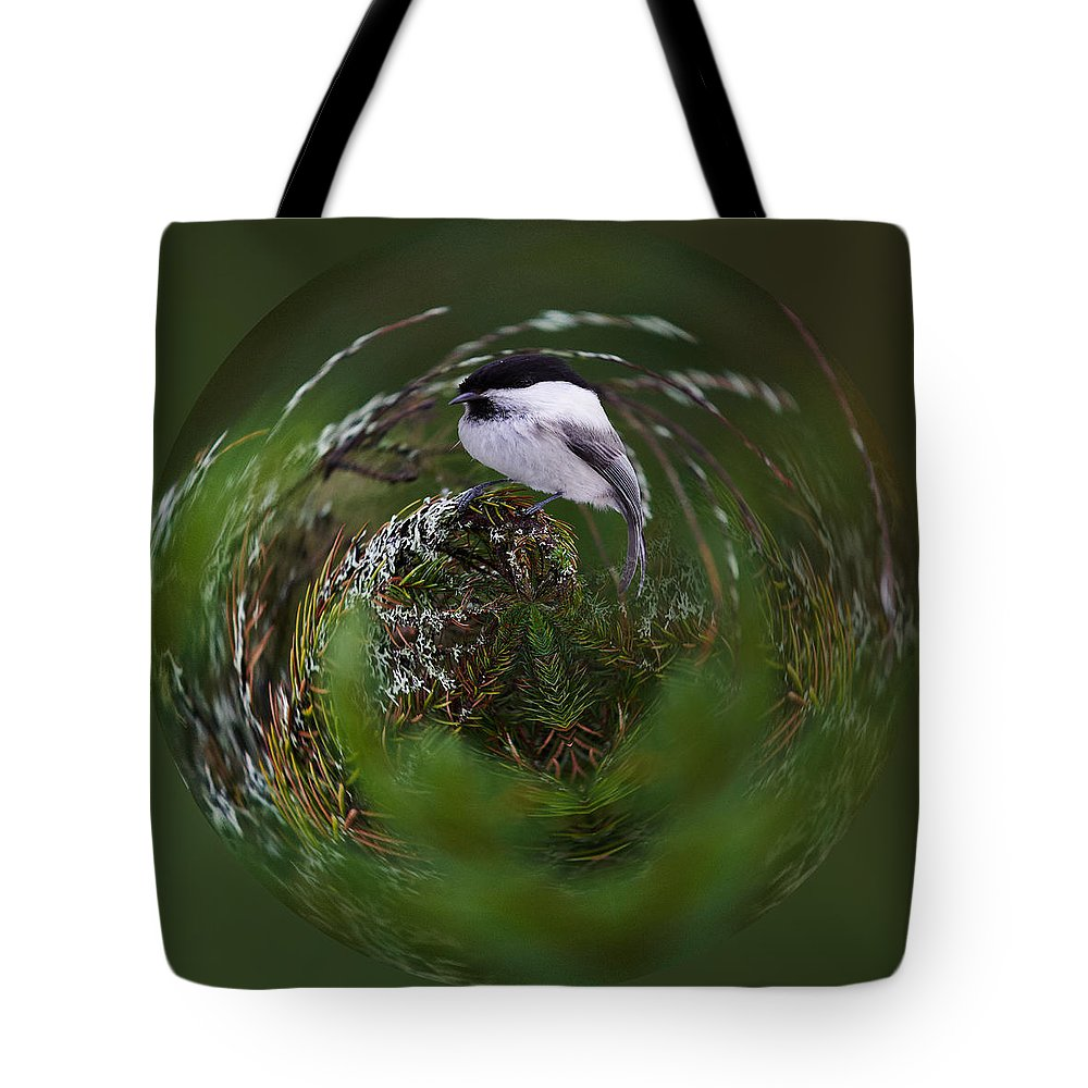 Finland Tote Bag featuring the photograph Willow Tit Ball by Jouko Lehto