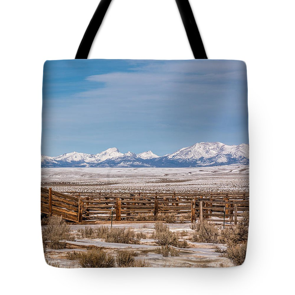 Gigimarie Tote Bag featuring the photograph Wind Rivers by Gina Herbert