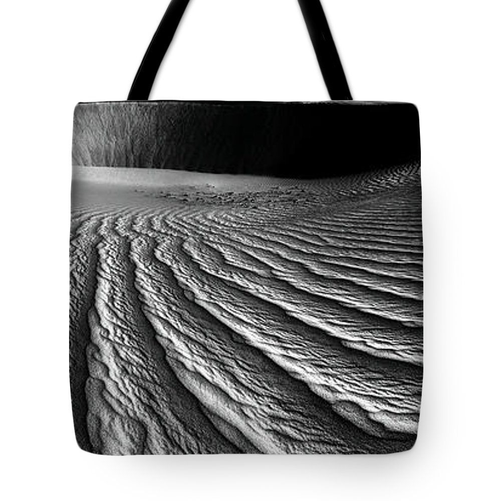 Ripples Tote Bag featuring the photograph Wind Sand Light And Time by Julian Cook