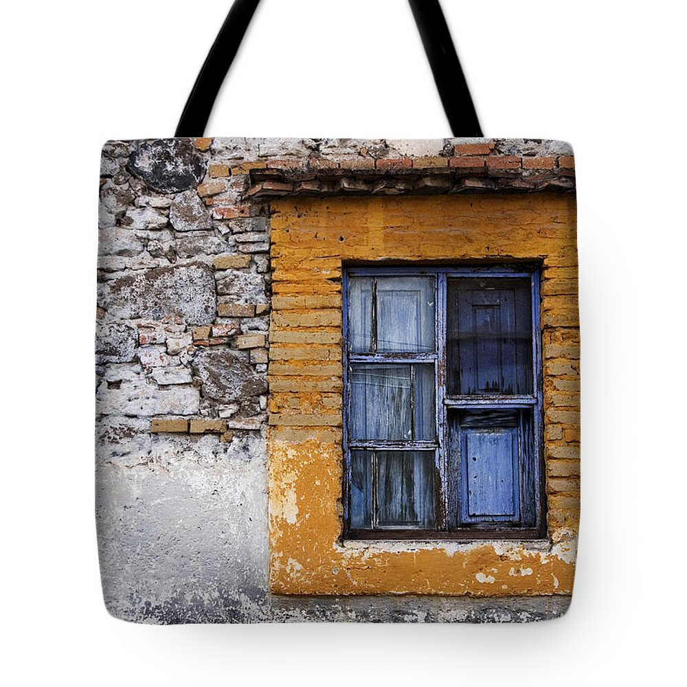 Mexico Tote Bag featuring the photograph Window Detail Mexico by Carol Leigh