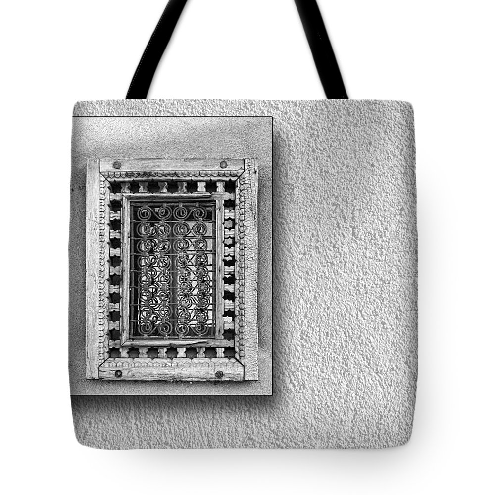 Window Tote Bag featuring the photograph Window Of Little Light by Nikolyn McDonald