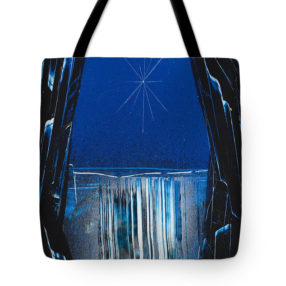 Landscape Tote Bag featuring the painting Window Rock by Jason Girard