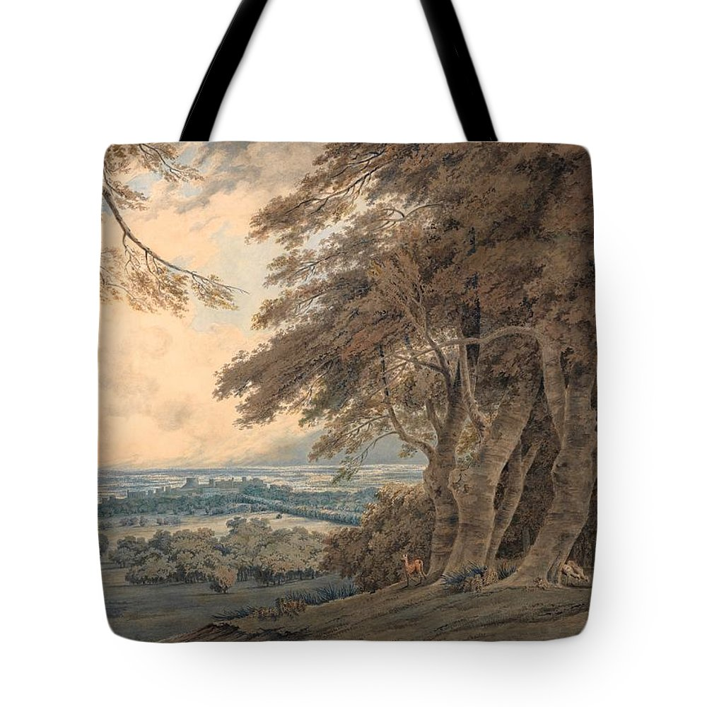 1798 Tote Bag featuring the painting Windsor by JMW Turner