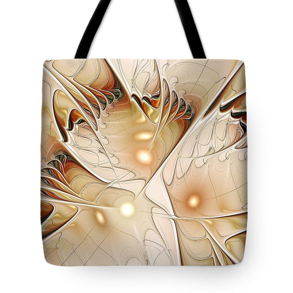Malakhova Tote Bag featuring the digital art Wings by Anastasiya Malakhova