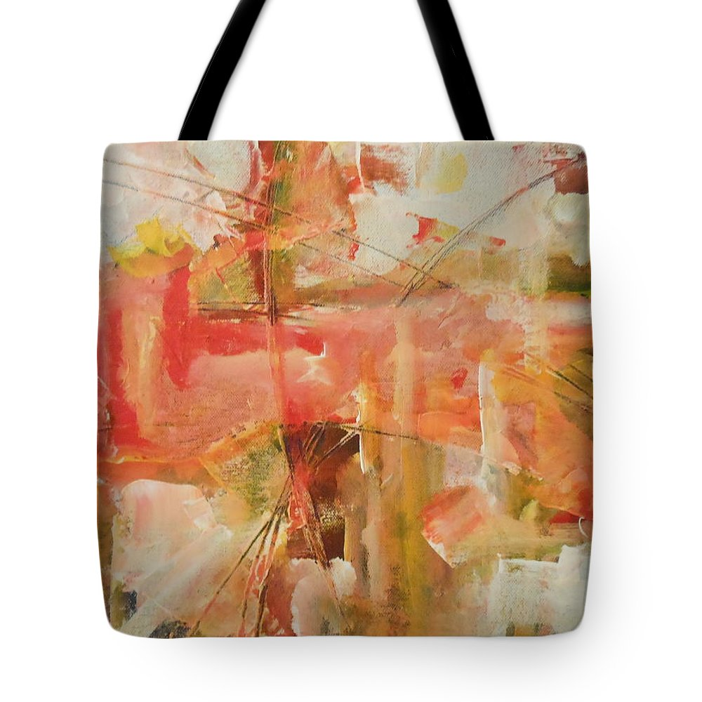 Abstract Tote Bag featuring the painting Wings by Lord Frederick Lyle Morris - Disabled Veteran