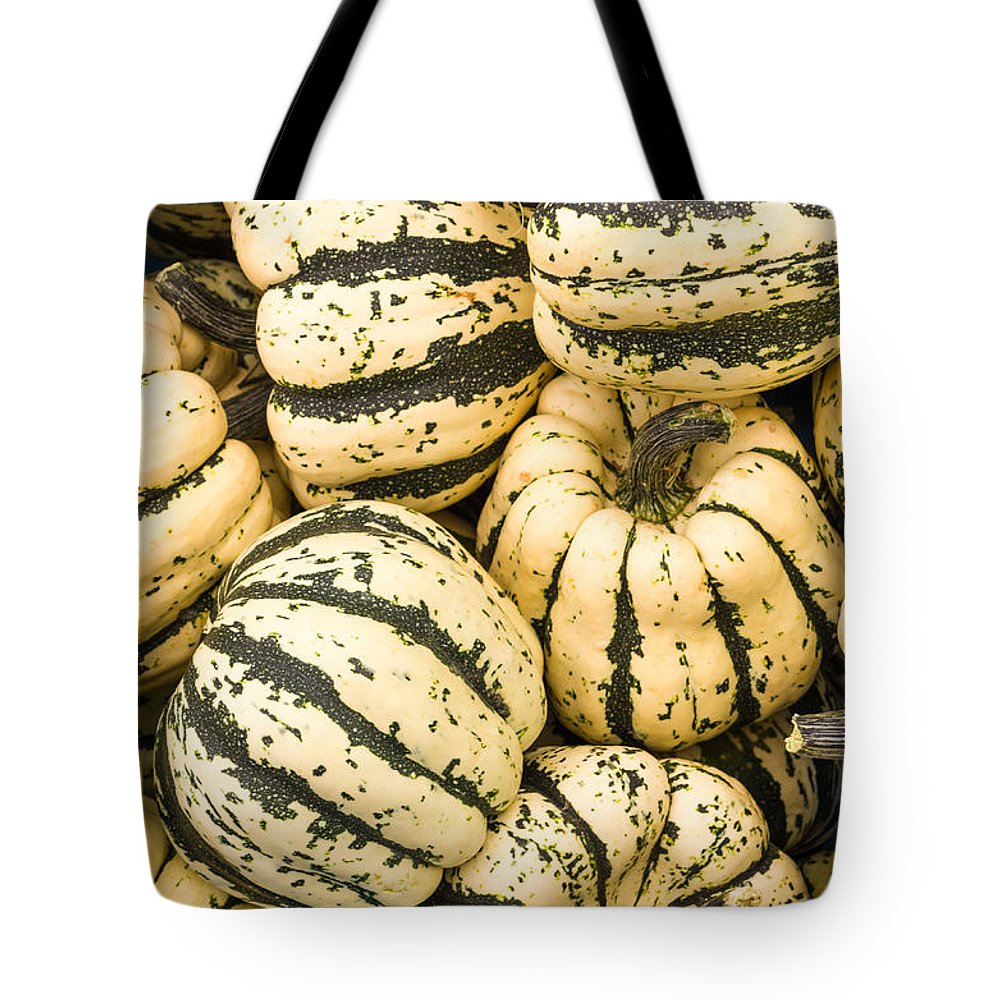 Agriculture Tote Bag featuring the photograph Winter Squash by John Trax