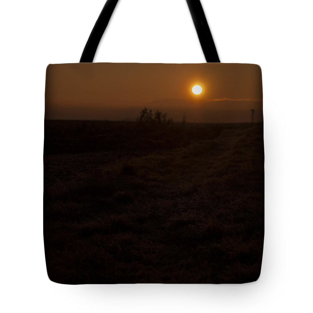 Germany Tote Bag featuring the photograph Winter Sunrise by Miguel Winterpacht