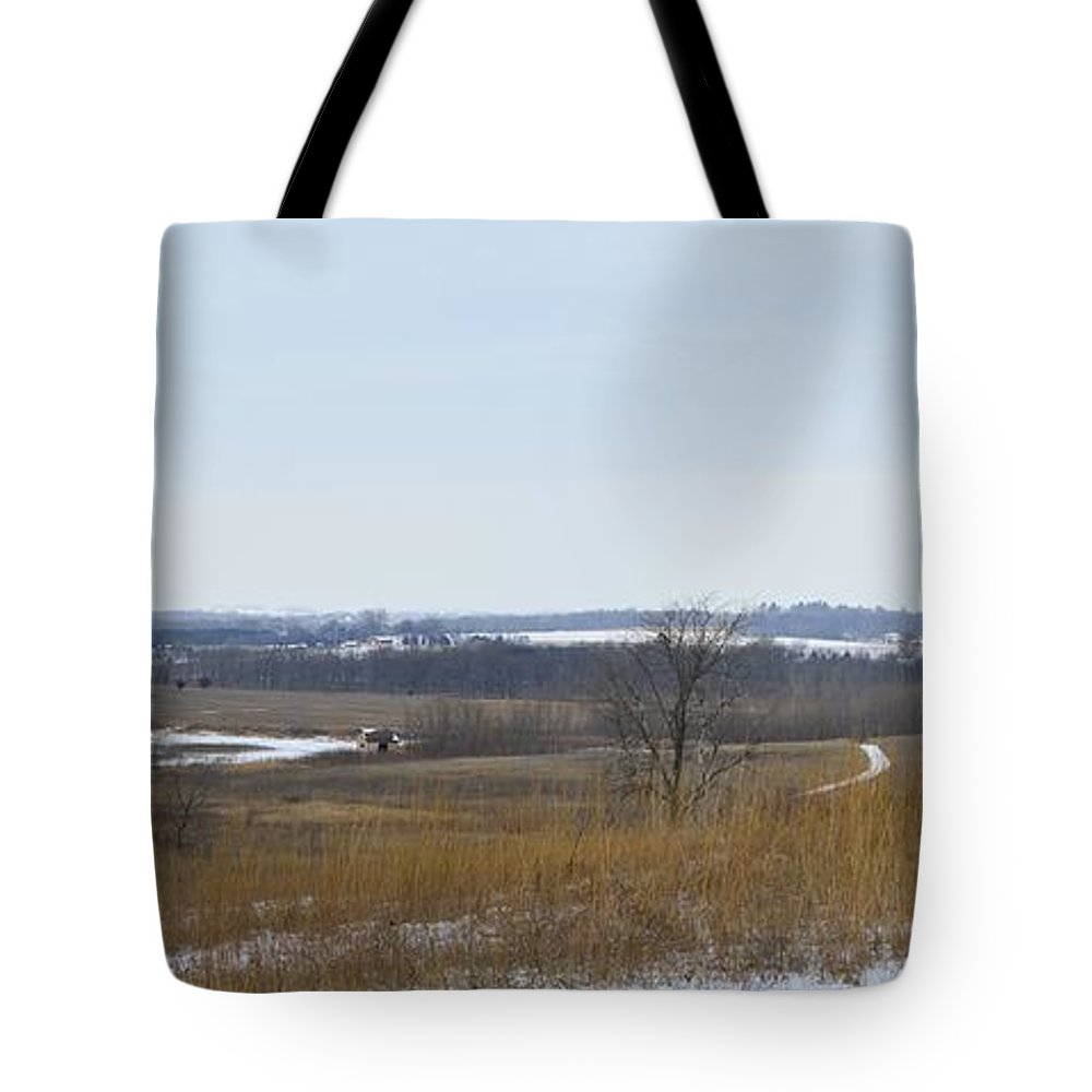 Winter Tote Bag featuring the photograph Winter Wonderland by Bonfire Photography
