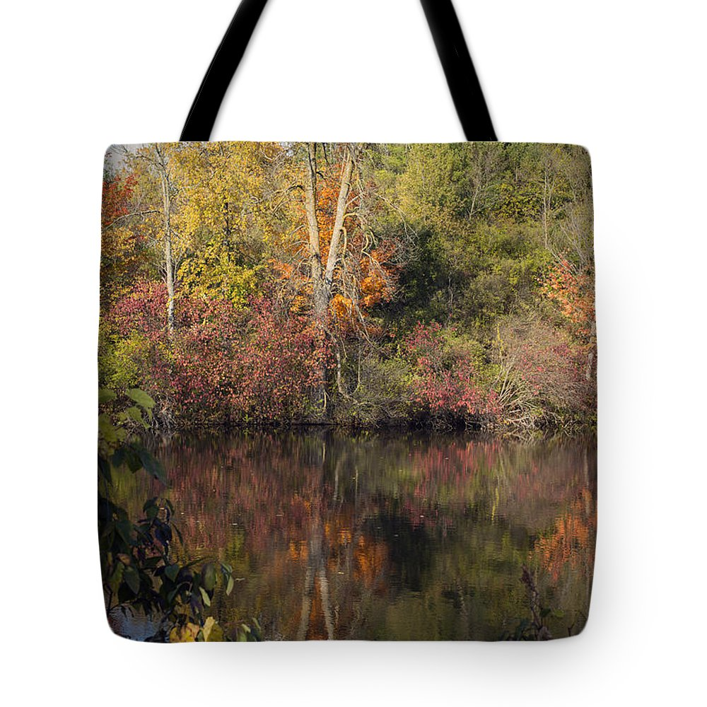 Fall Tote Bag featuring the photograph Wisconsin Beauty by Jayne Gohr