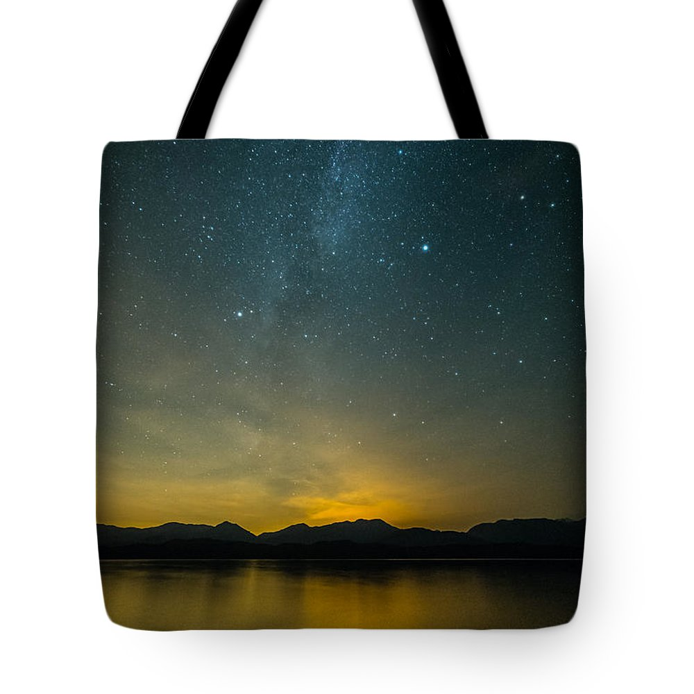 Beautiful Tote Bag featuring the photograph Wish Upon A Star by James Wheeler