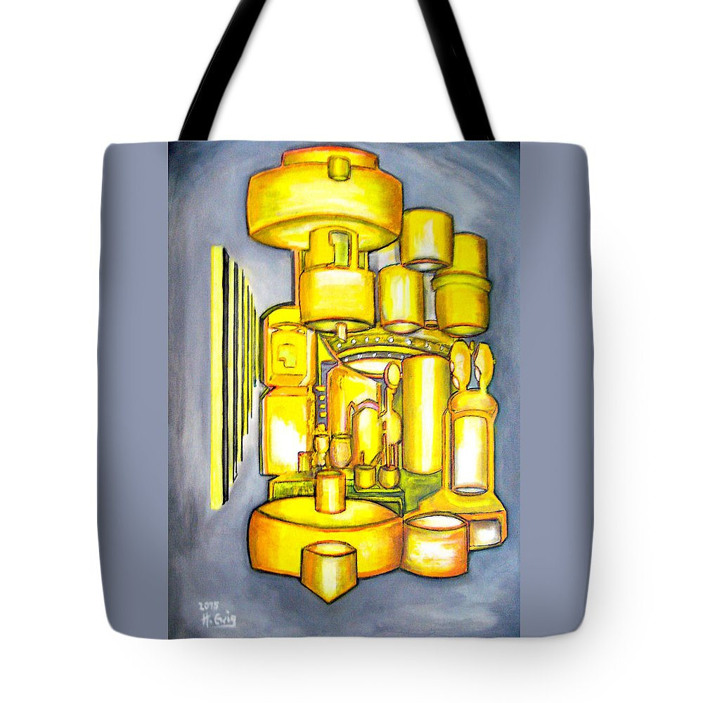 Well Tote Bag featuring the painting Wishing Well by Heinz Ewig