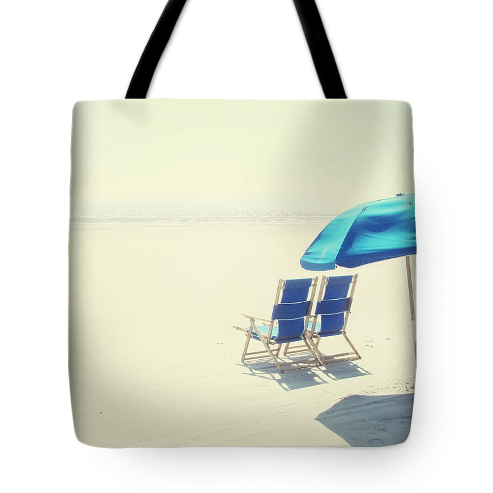 Beach Tote Bag featuring the photograph Wishing You Were Here by Amy Tyler