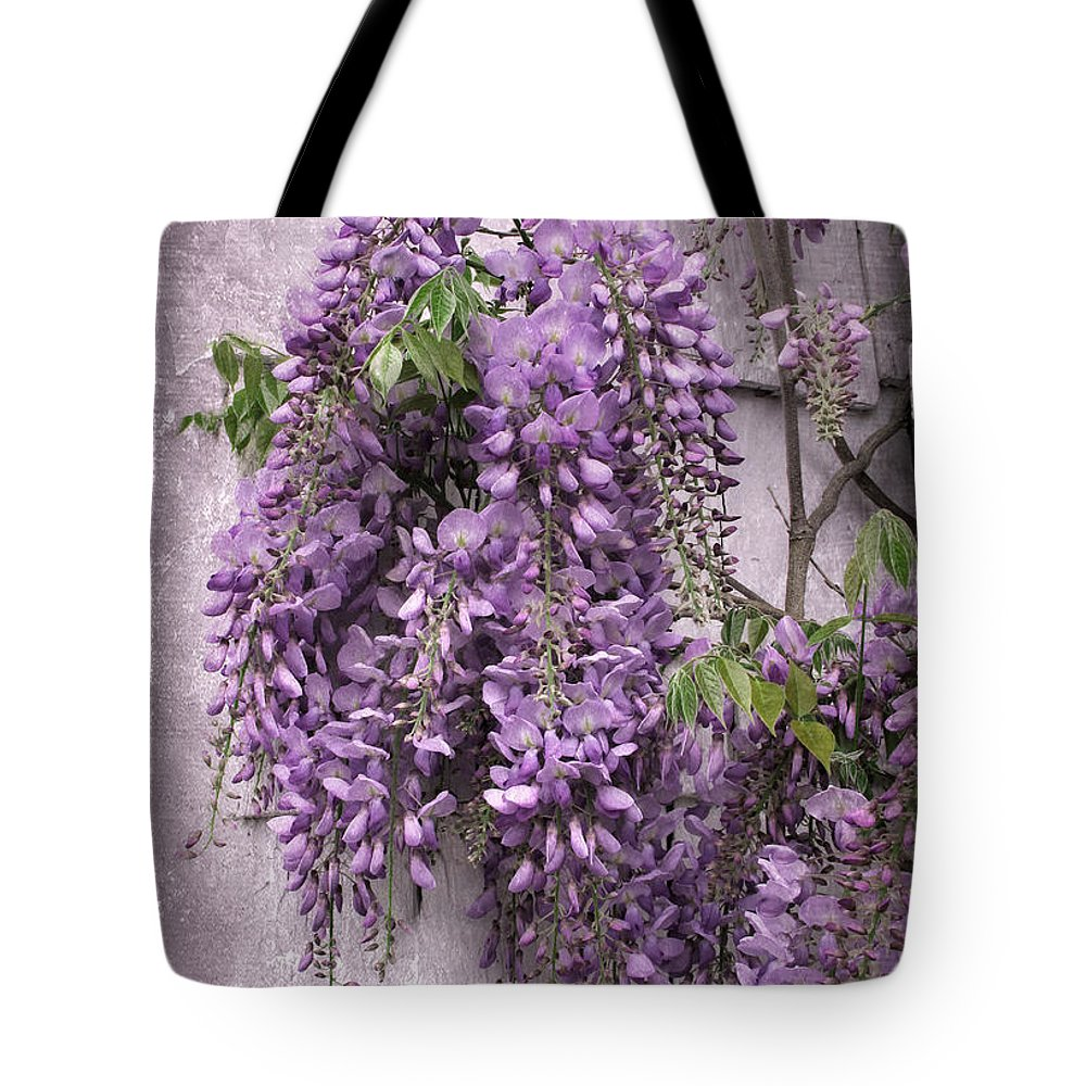 Wisteria Photographs Tote Bags