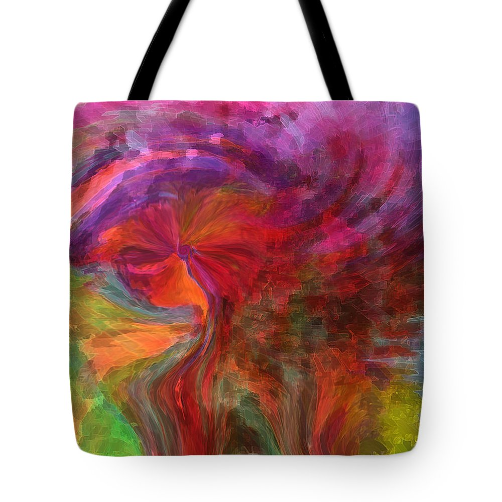 Woman Art Tote Bag featuring the digital art Women by Linda Sannuti