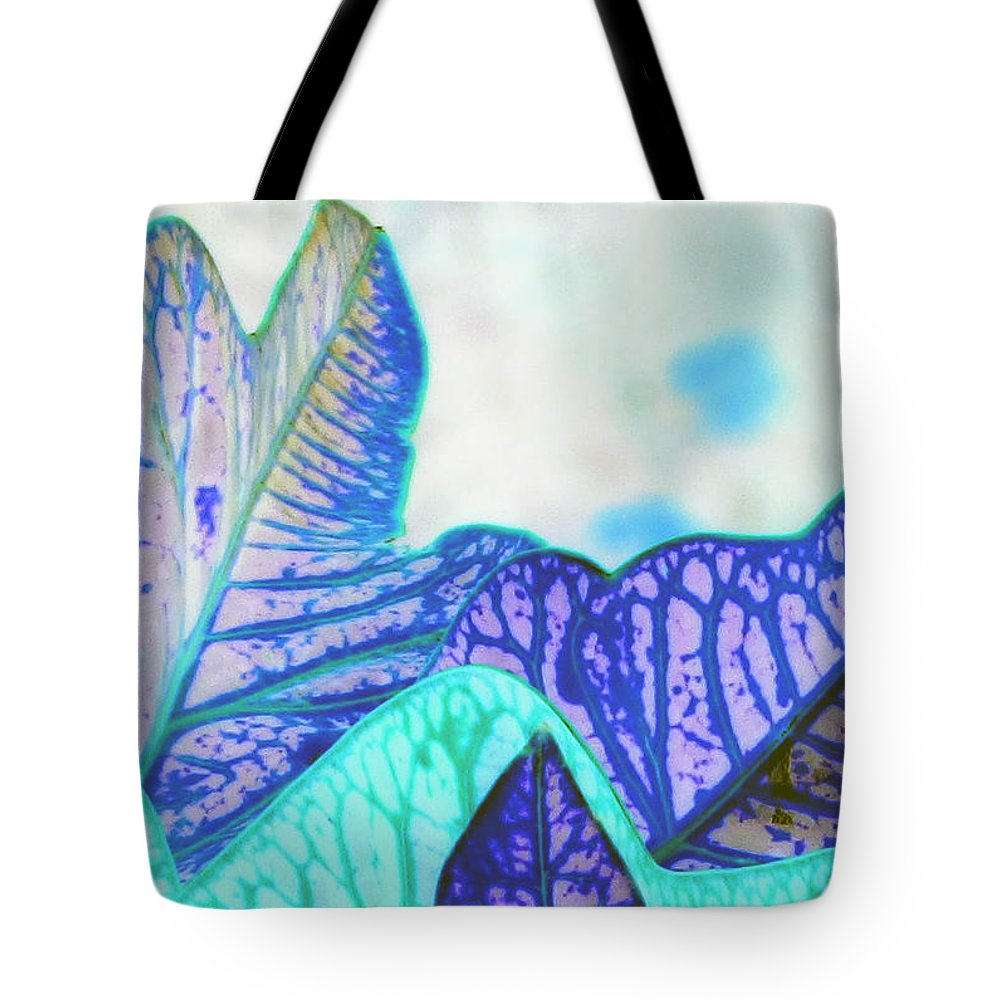 Croton Tote Bag featuring the photograph Wonder by Debi Singer