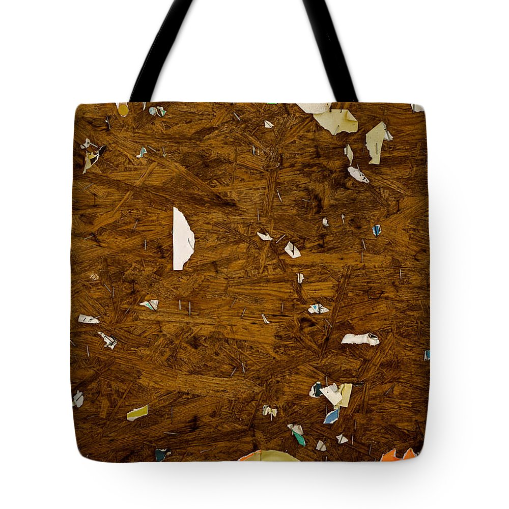 Abstract Tote Bag featuring the photograph Wood Texture by TouTouke A Y