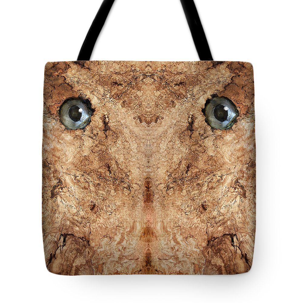 Wood Tote Bag featuring the photograph Woody 44 by Rick Mosher