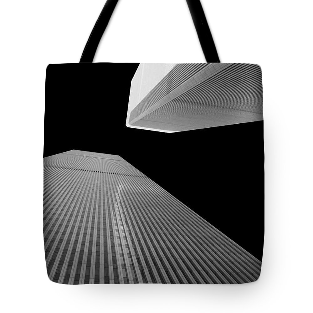 New York Tote Bag featuring the photograph World Trade Center 2 by Jeff Watts