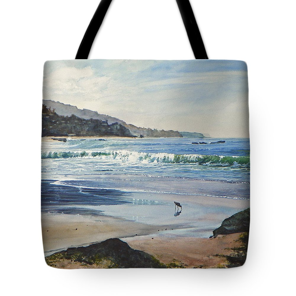 Maritime Tote Bag featuring the painting Worth A Thousand Steps by Bill Hudson