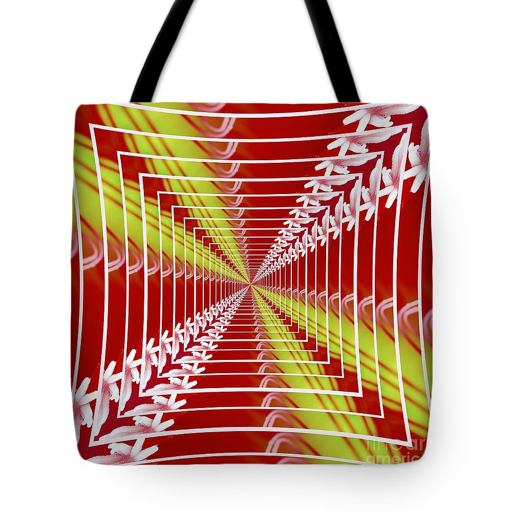 Worth The Wait 2 Tote Bag featuring the digital art Worth The Wait 2 by Wendy Wilton