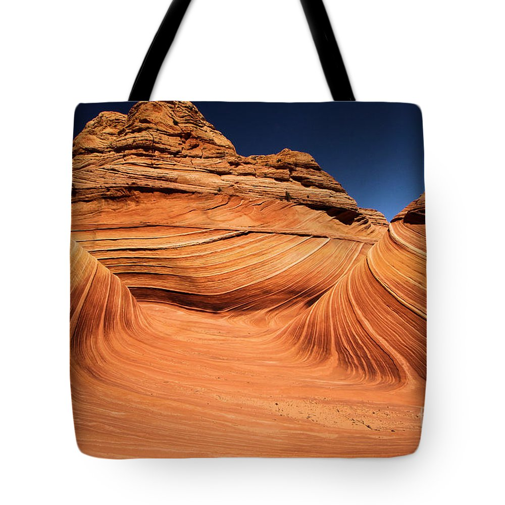 The Wave Tote Bag featuring the photograph WOW by Adam Jewell