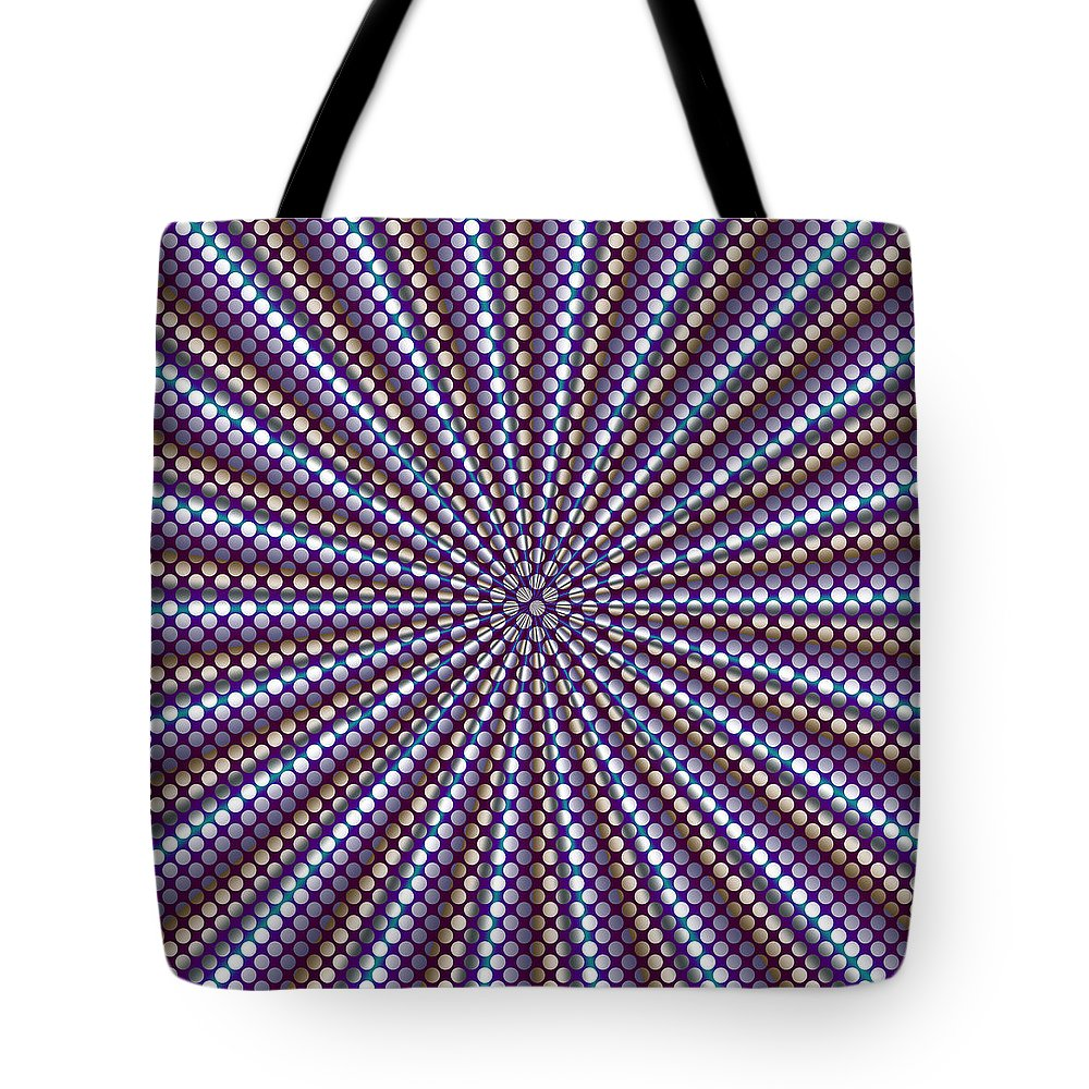 Op Art Tote Bag featuring the photograph Wrapper by WB Johnston